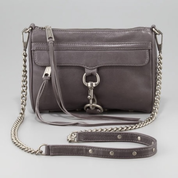 82c7e3d00 Rebecca Minkoff Charcoal Mini M.A.C. Crossbody Bag.  M_5b6b70bed8a2c73ffd91fcf8